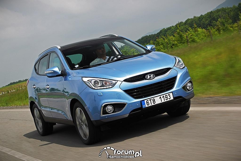 Hyundai ix35, przód
