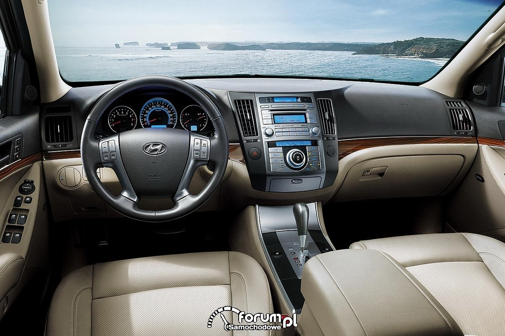Hyundai IX55, wnętrze