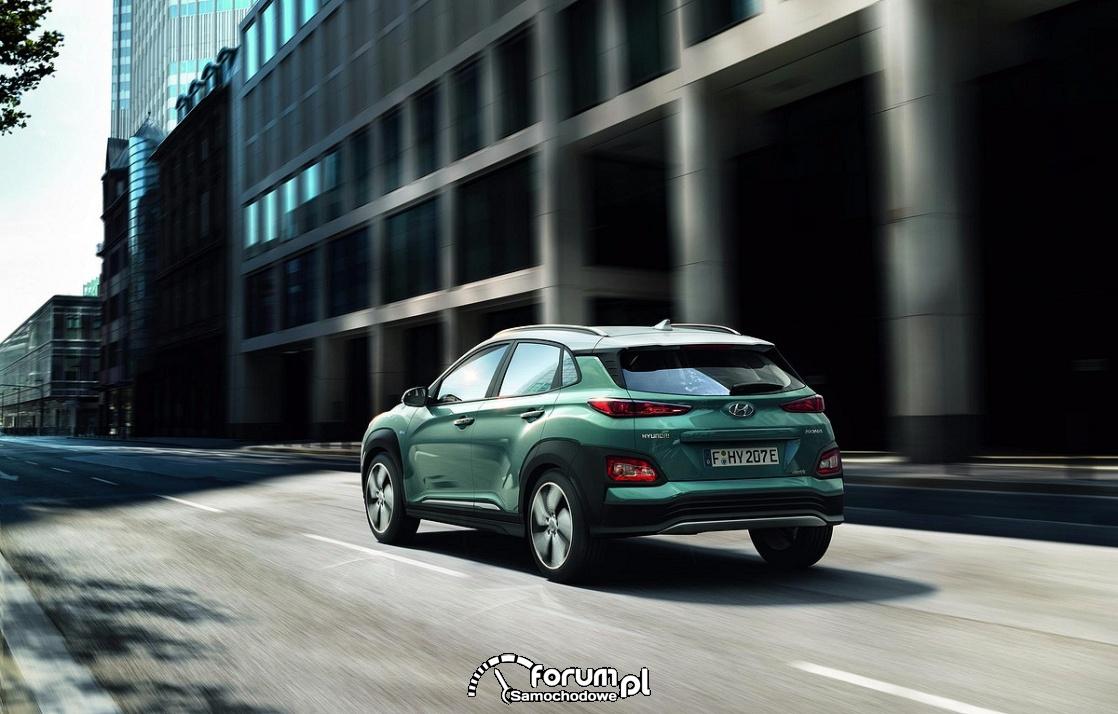 Hyundai Kona Electric, tył