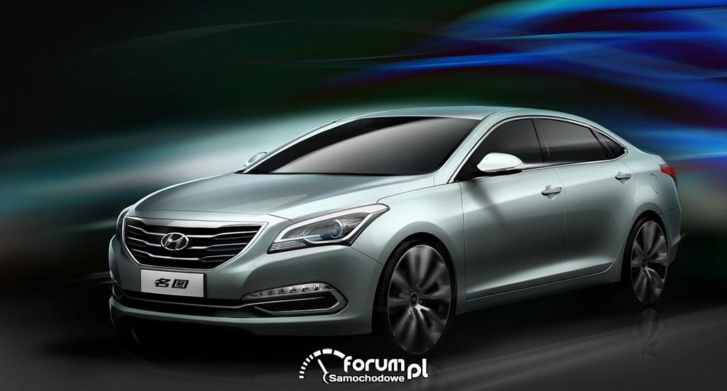 Hyundai Mistra, model koncepcyjny, prototyp, przód