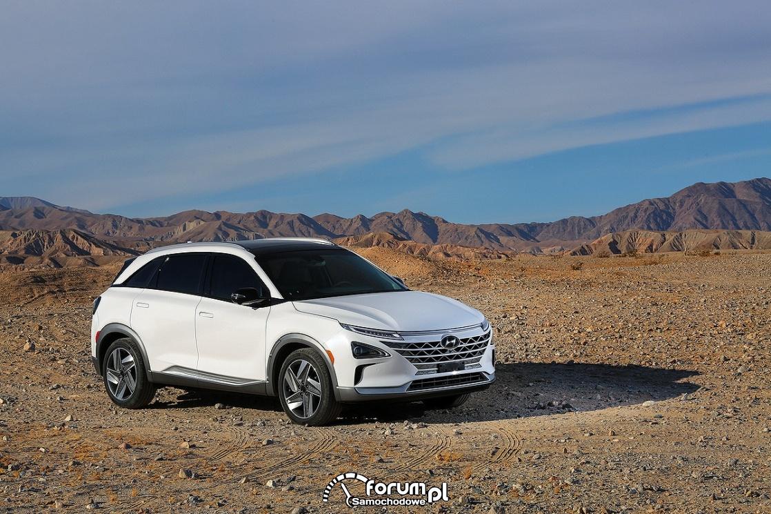 Hyundai NEXO, zasilany ogniwami wodorowymi