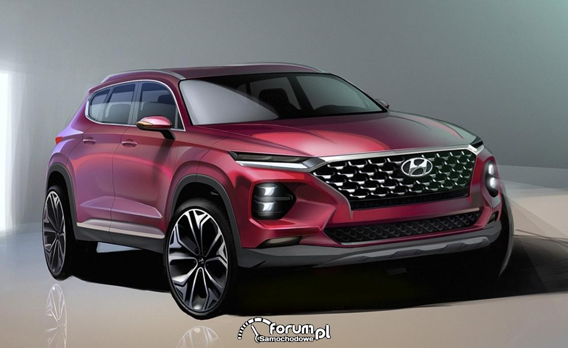 Hyundai Santa FE, 2018, przód