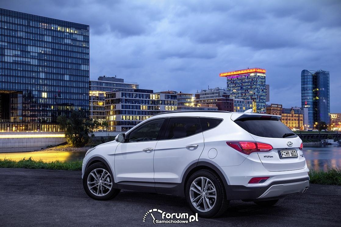 Hyundai Santa Fe, bok i tył