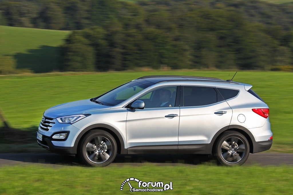 Hyundai Santa Fe Nowej Generacji w testach Euro NCAP