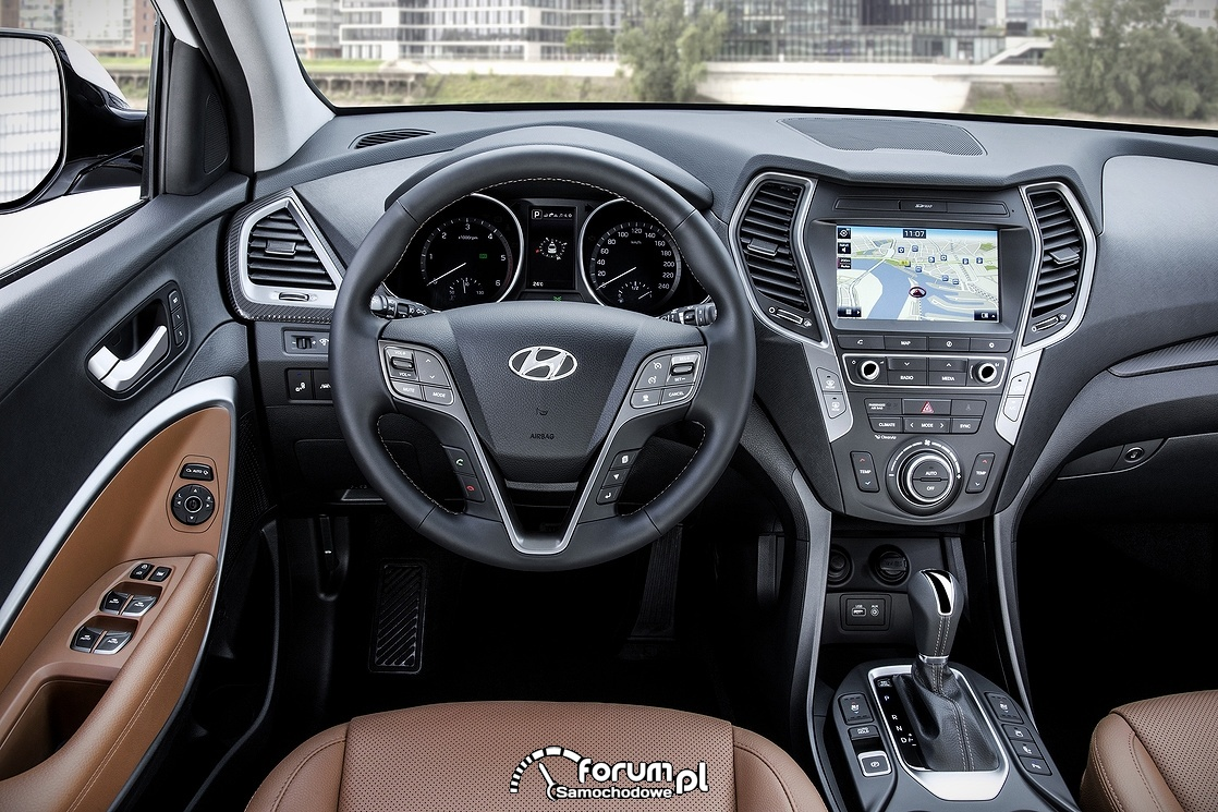 Hyundai Santa Fe, wnętrze