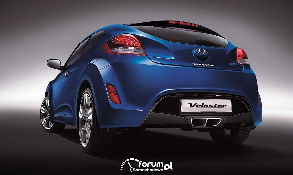 Hyundai Veloster, tył