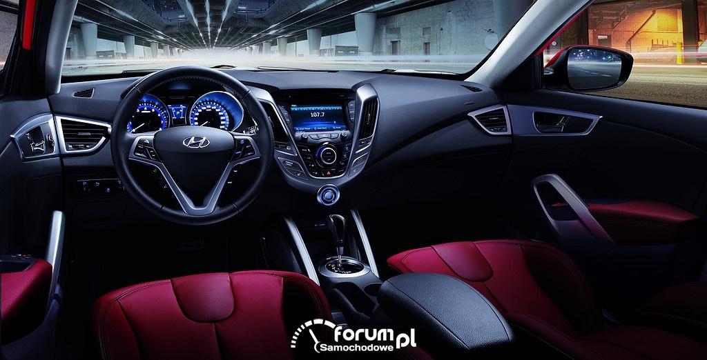 Hyundai Veloster, wnętrze