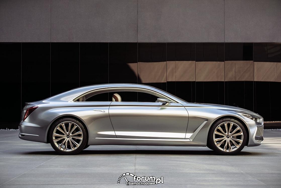 Hyundai Vision G Coupe Concept, bok
