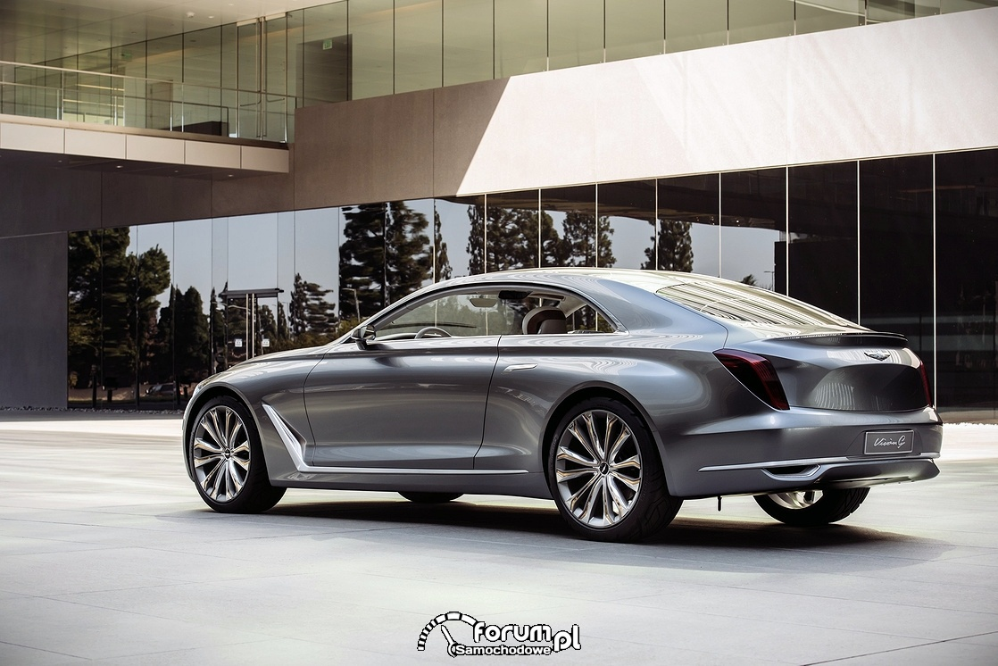 Hyundai Vision G Coupe Concept, tył