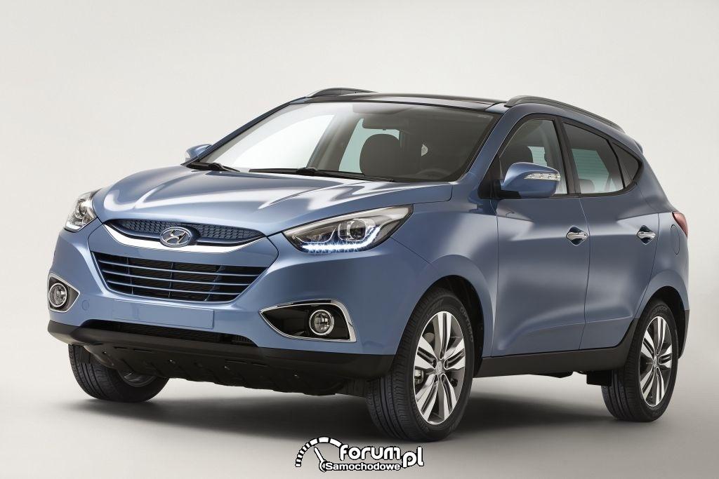 Nowy model Hyundai ix35 - pierwsze zdjęcia
