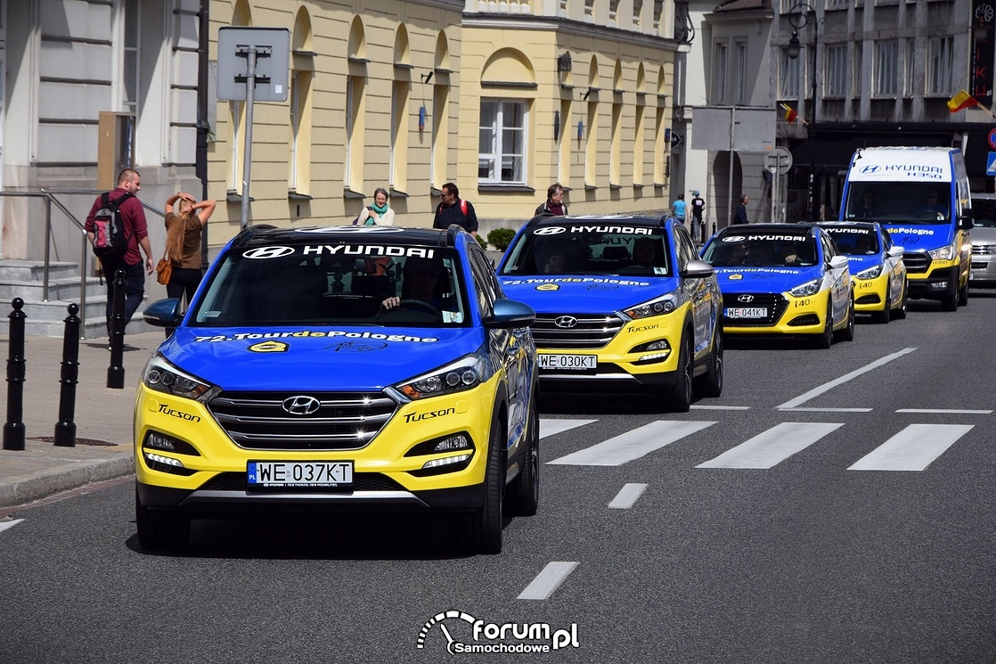 Samochody Hyundai, Tour de Pologne