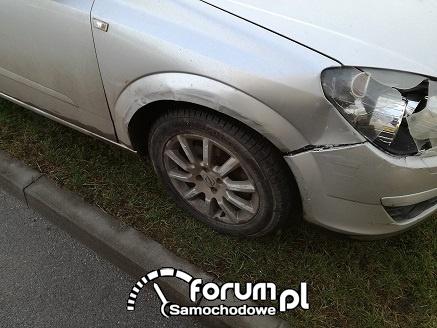 Opel Astra H uszkodzenia