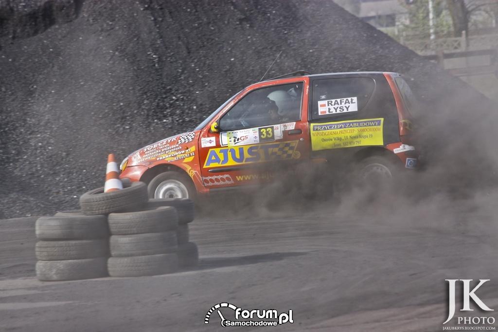 II KJS GS Rally - Ostrów Wielkopolski - 29.04.2012