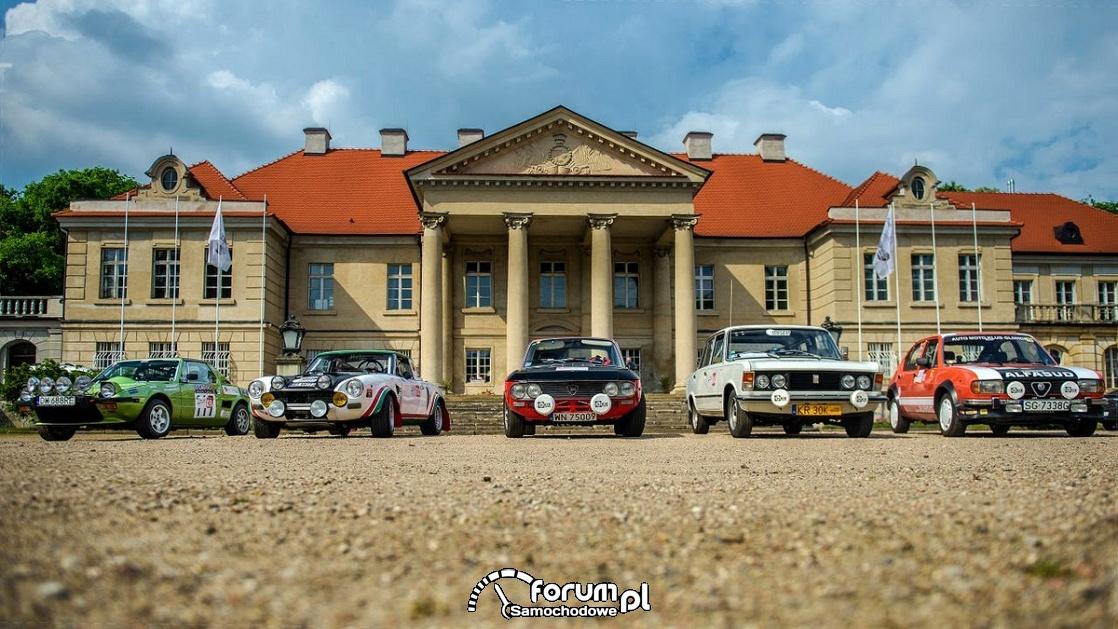 Rajdowe samochody klasyczne