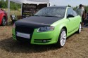 Audi A4 B7, zielono-czarny carbon mat