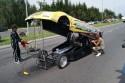 Samochód odrzutowy - Predator, przed startem