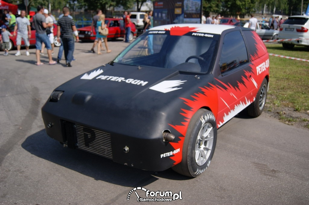 Suzuki Swift, Peter-Gum, 1/4 mili