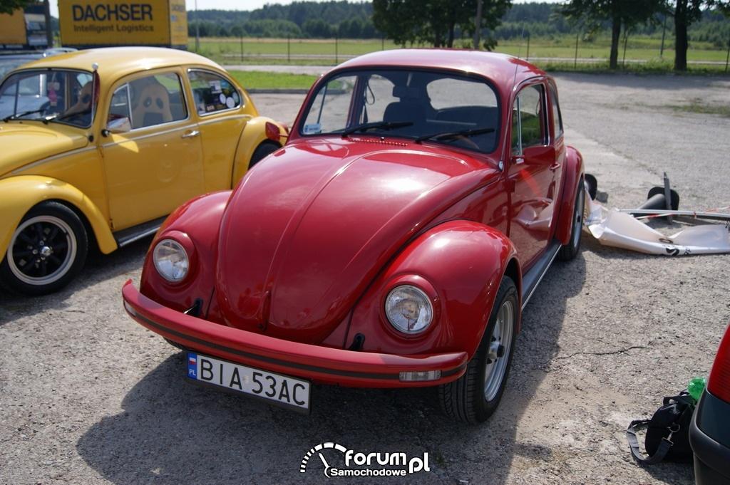 Volkswagen Garbus, czerwony