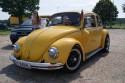 Volkswagen Garbus, przód, żółty