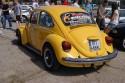 Volkswagen Garbus, tył, żółty