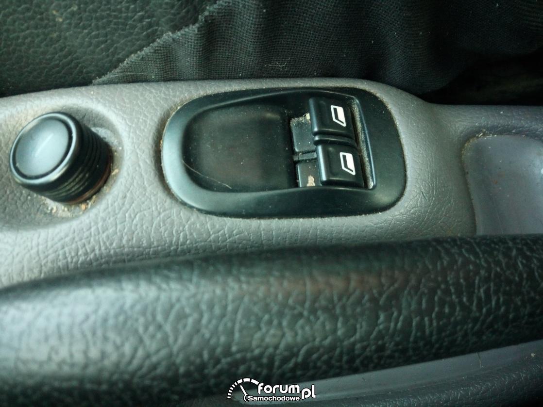 Panel elektrycznych szyb Peugeot 206