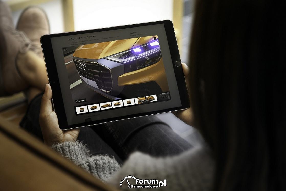 Aplikacja Audi Visualization Engine