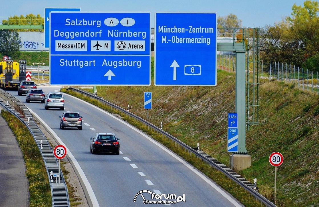 Ograniczenie prędkości na niemieckich autostradach