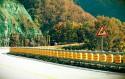 Rolling Barrier System - obrotowe beczki na drodze