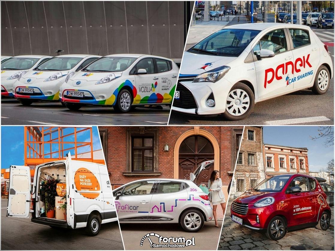 Carsharing: auta na minuty i ekologia