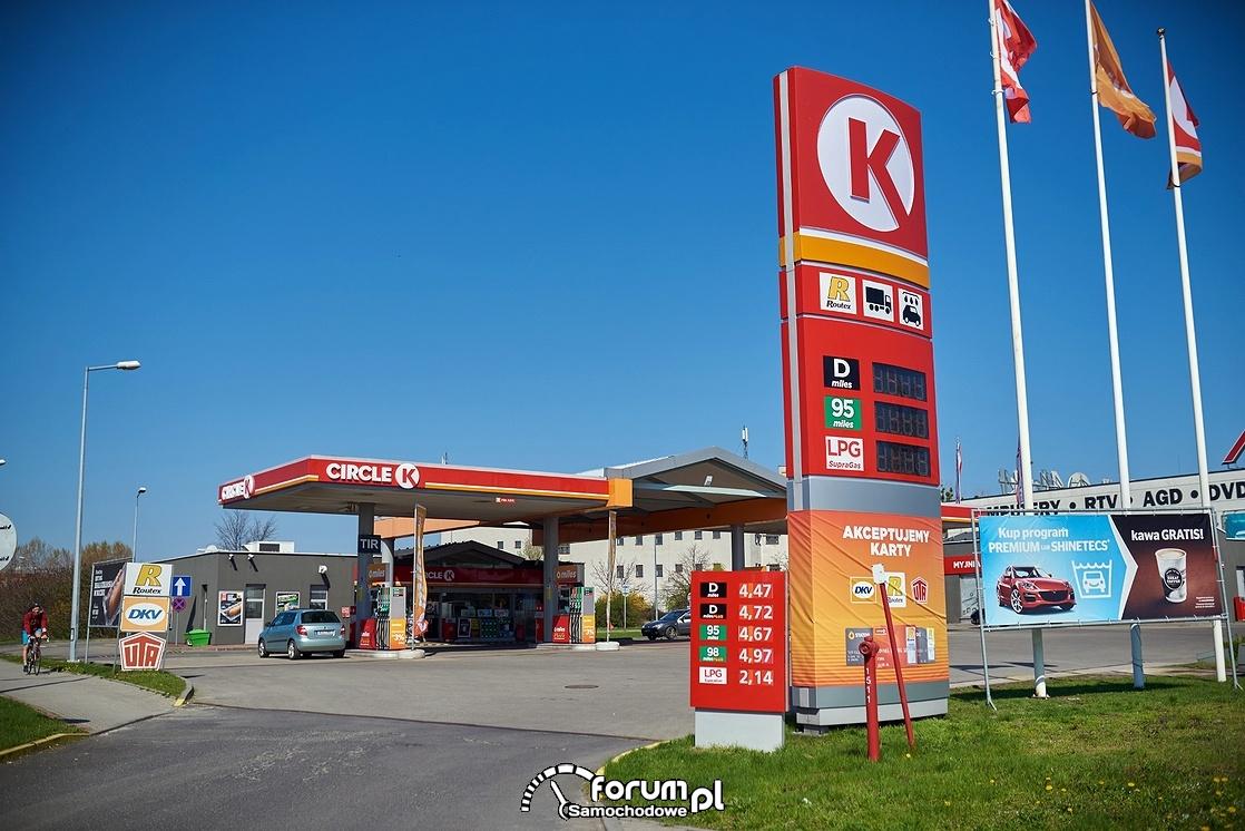 Circle K, Opole, stacja benzynowa