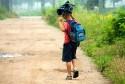 Uwaga na dzieci na drodze wracające lub idące do szkoły!