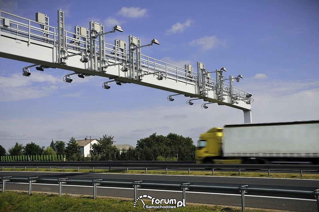 Elektroniczny System Poboru Opłat viaTOLL, bramka na trasie