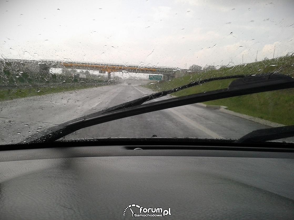 Jazda w deszczu