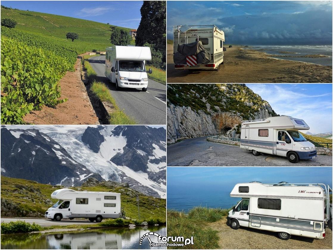Kamper, podróż, wakacje