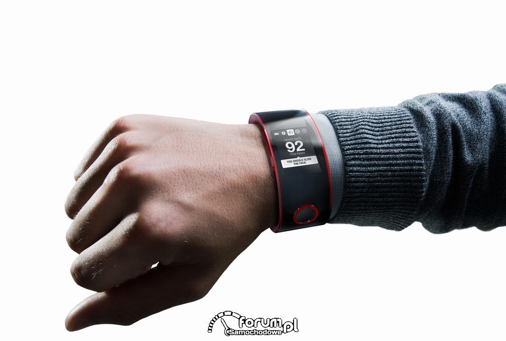 Koncepcyjny zegarek Nismo Watch