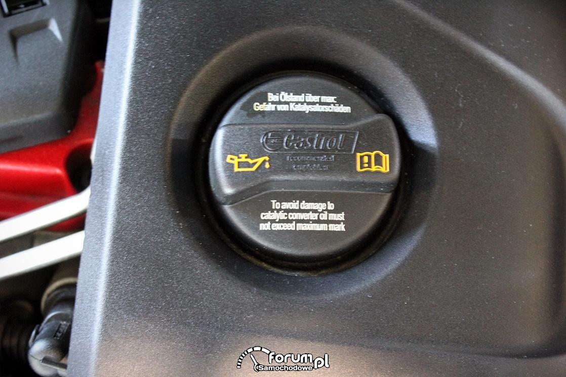 Korek od oleju silnikowego