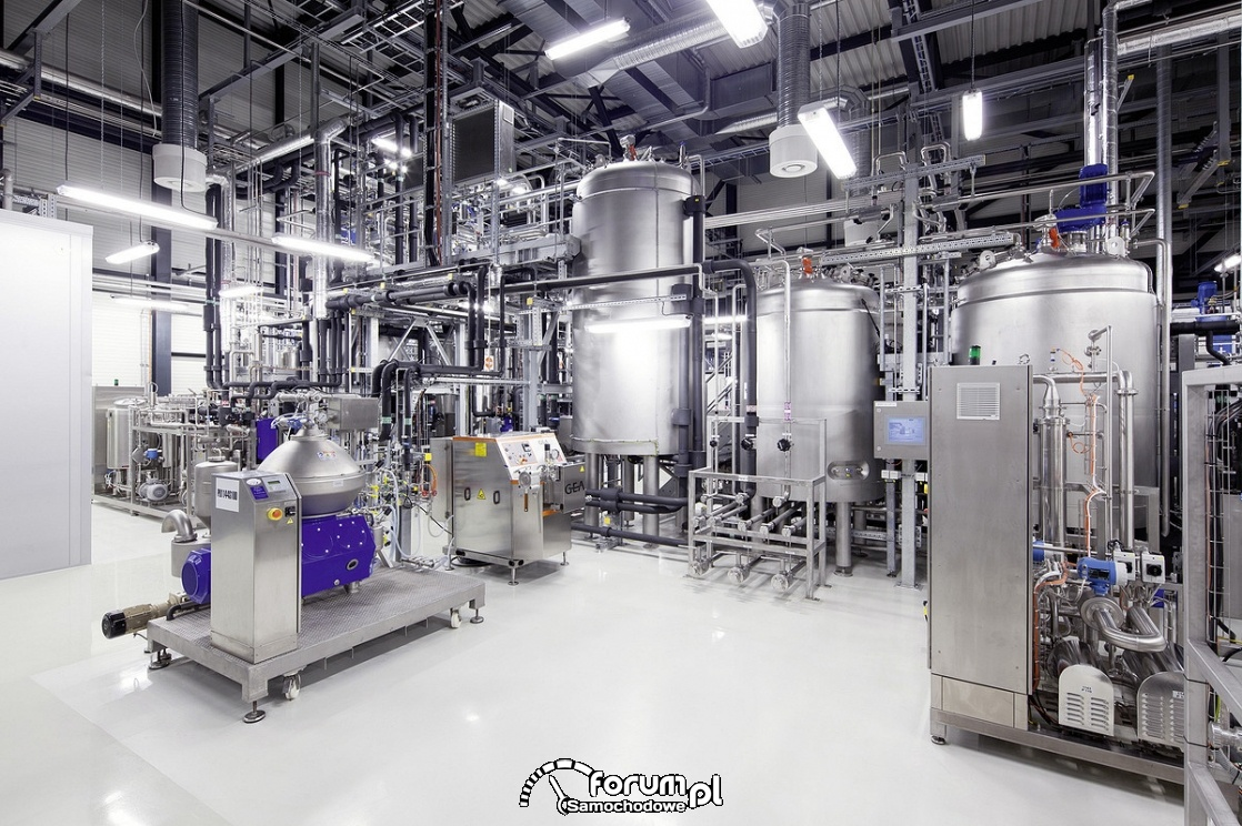 Labolatorium testów paliwa e-benzyny, Audi