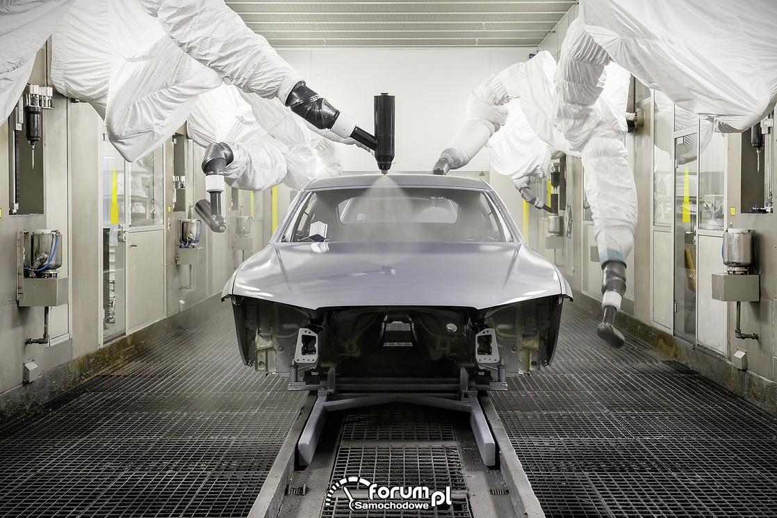 20 rocznica powstania lakierni w zakładach Audi w Neckarsulm