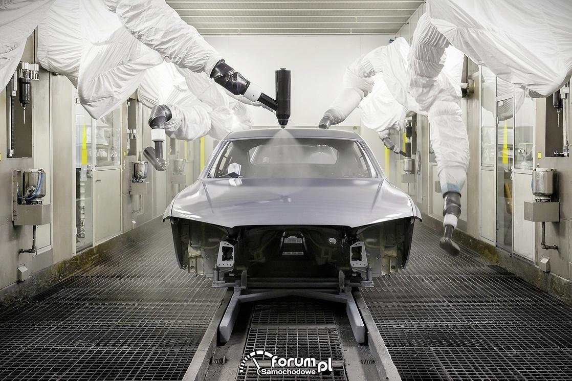 Lakiernia samochodowa, roboty