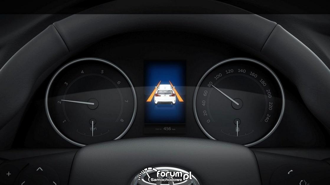 Lane Departure Alert (LDA) - Toyota