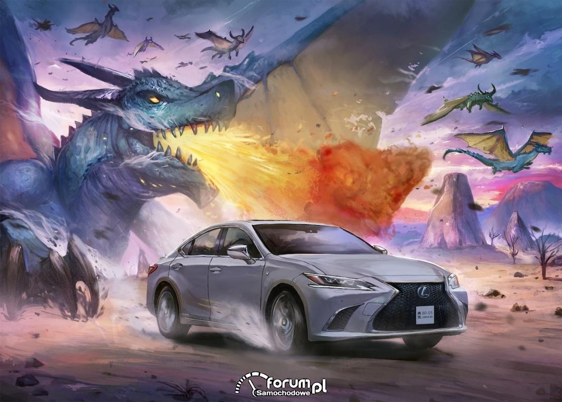 Lexus ES, manga Timothy Kong