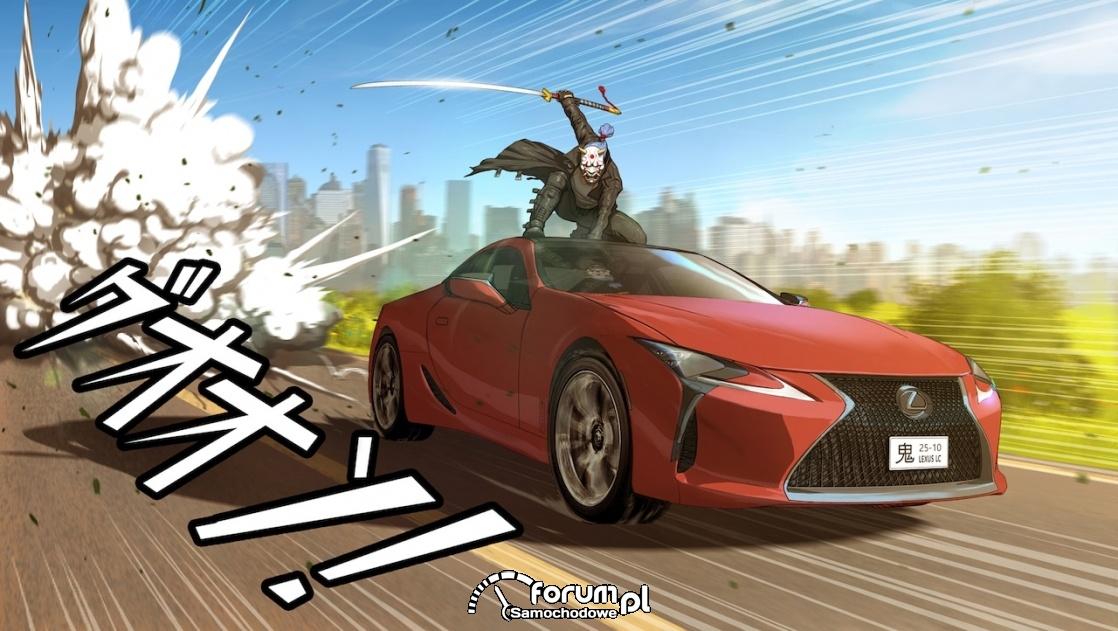 Lexus LC, manga, Daniel Atasanov