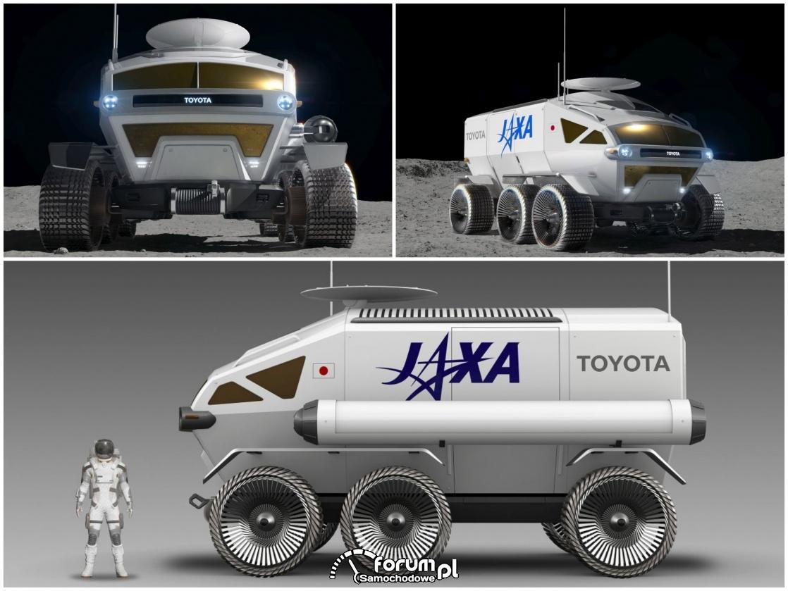 Toyota Lunar Cruiser – czym się różni od Land Cruisera?