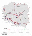 Mapa viaTOLL - październik, grudzień 2013
