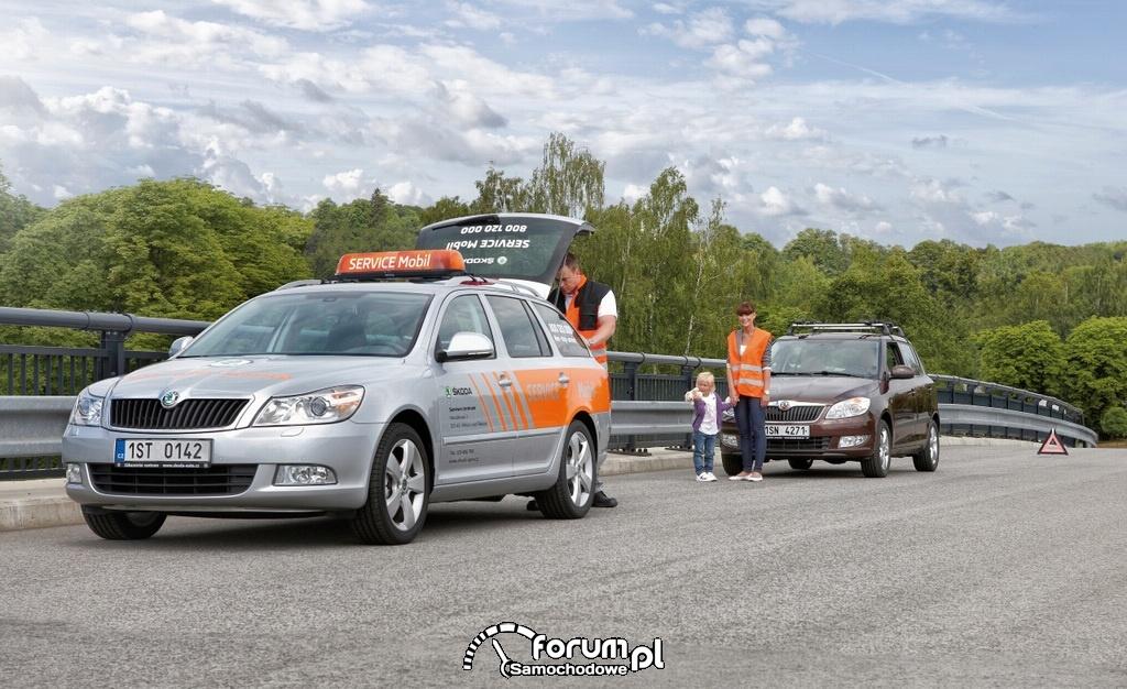Mobilny serwis - pomoc na drodze w razie awarii