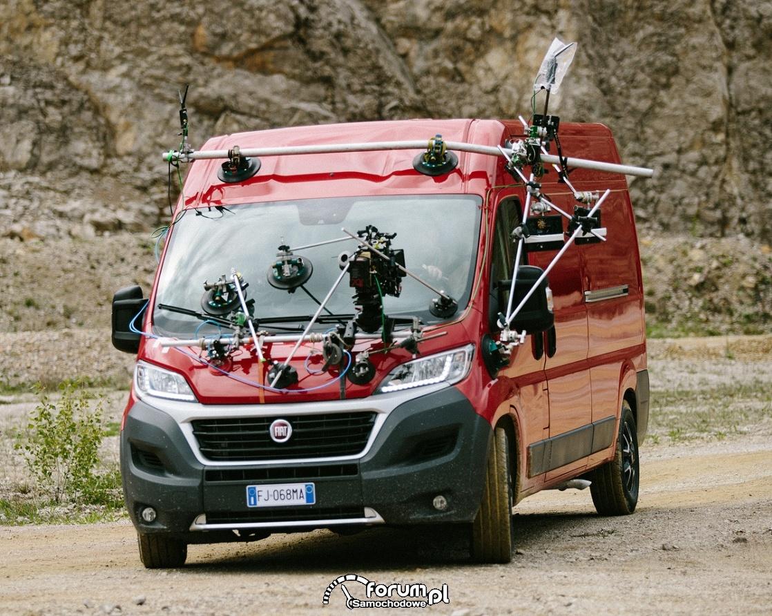 Nagrywanie kierowcy aktora, Fiat Ducato