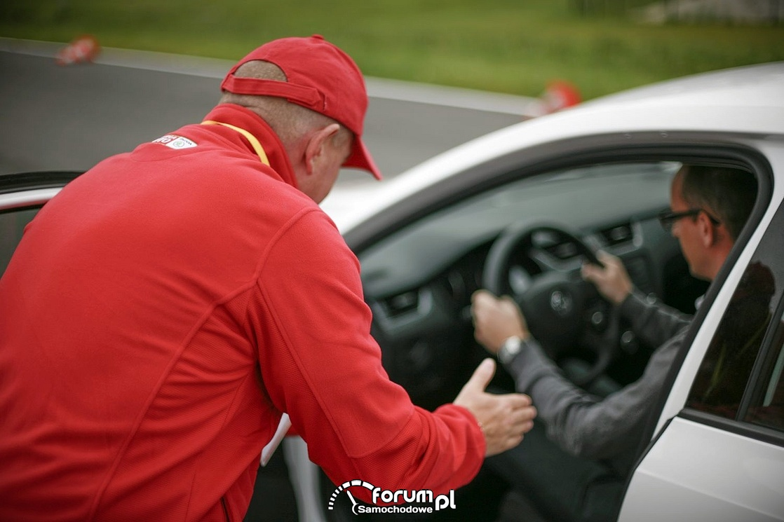 Niesłyszący kierowca