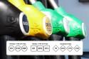 Nowe oznaczenia paliw - trzy grupy kółko, kwadrat, romb