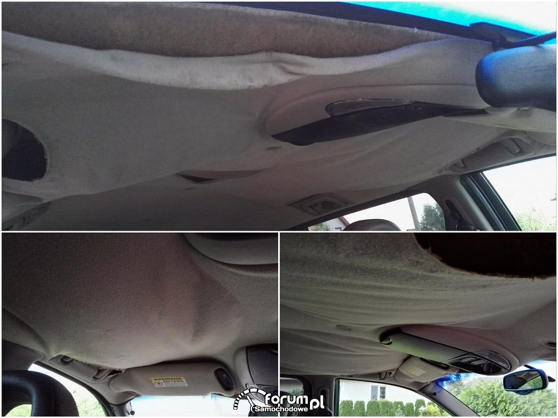 Renowacja, naprawa podsufitki w samochodzie - instrukcja