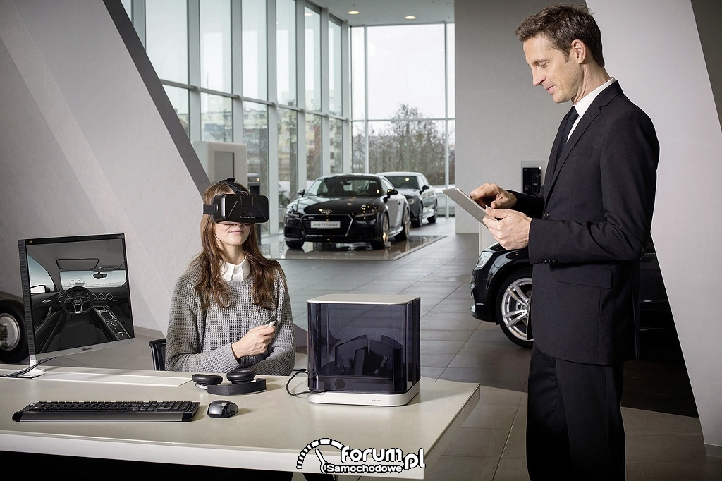 Okulary Virtual Reality Audi